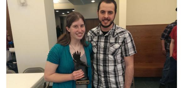 Erica Bauer awarded Martin H. Plummer Scholarship