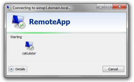 Microsoft RemoteApp for Remote Access