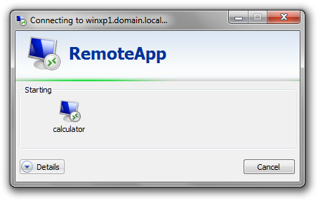 Microsoft RemoteApp for Remote Access